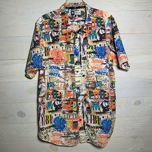 LRG button front shirt